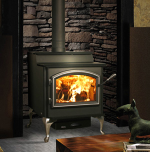 QuadraFire 5700 Step Top Wood Freestanding