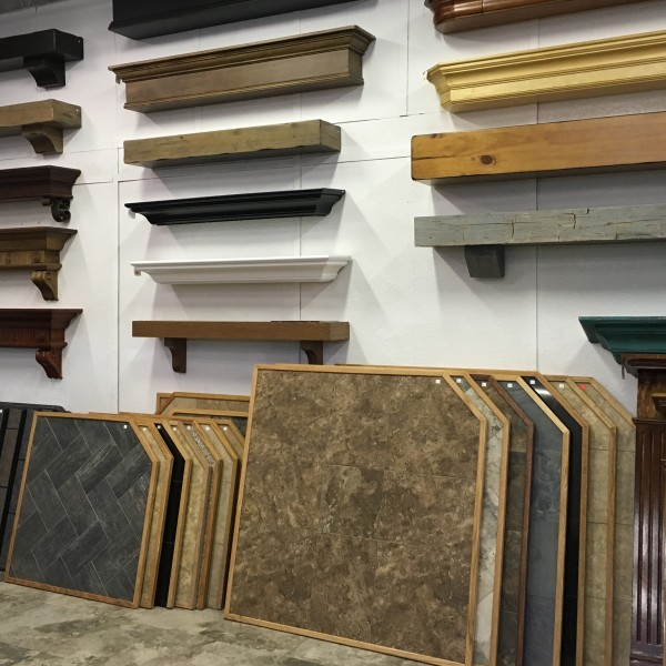 Showoom Tile Pads & Mantels